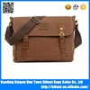 New designs bags men single shoulder quality canvas satchel bag from China factory