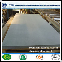 Mothproof Corrosionproof Asbestos Free Fiber Cement Wall Board