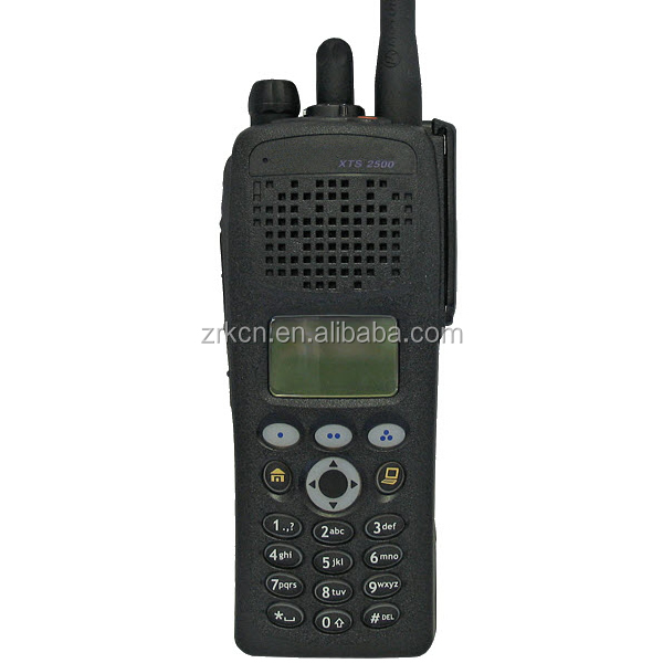 XTS2500 military grade hand held 2 way radio set with encryption with range 800MHz