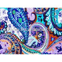 95%viscose 5%spandex print single jersey
