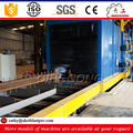 hot sale china manufacturer supplier iron steel roller conveyor shot blast cleaning machine/equipment price