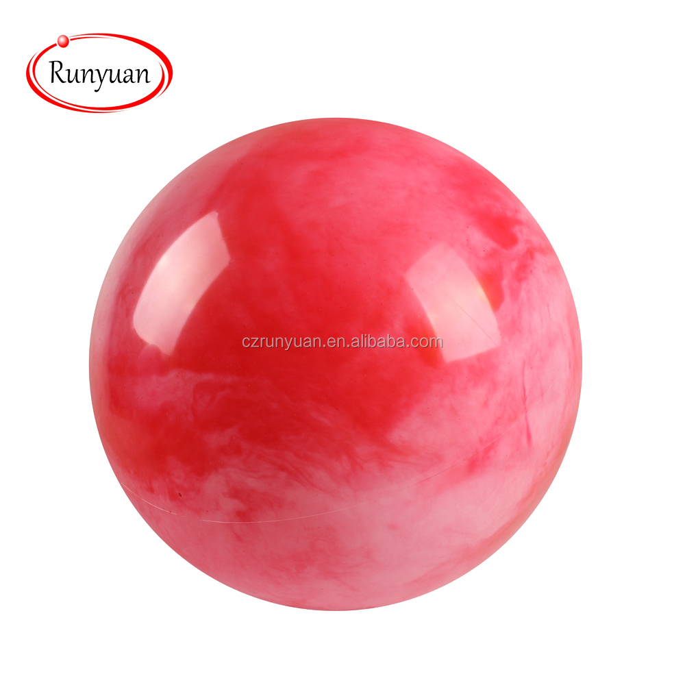 RUNYUAN Custom Funny Toy Ball Mini Inflatable Ball for Child as Gift,Red Ball,OEM