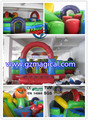 outdoor inflatable bouncer obstacle cheap inflable jumping combo inflable bounce