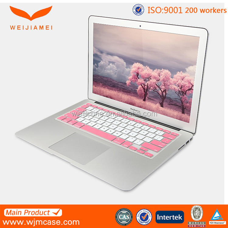 2015 China supply soft plastic colorful computer keyboard cover