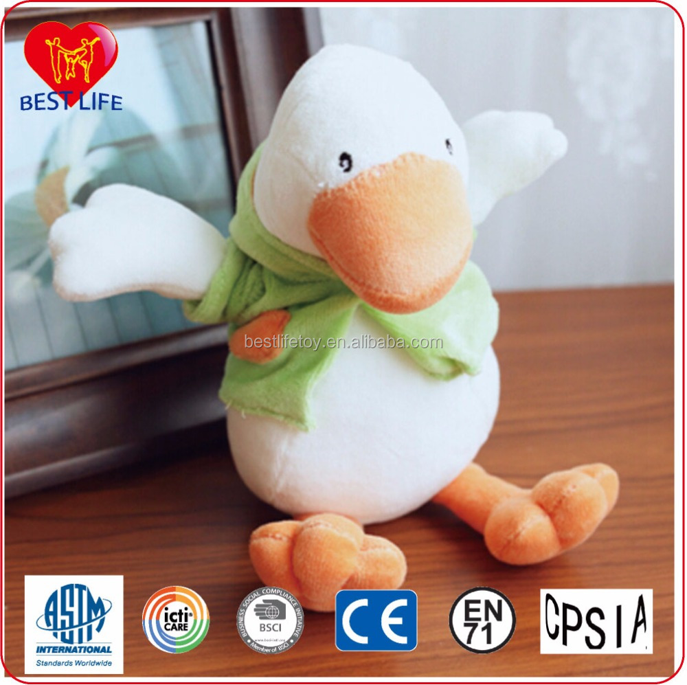 2016 Hot-sale High Quality Soft Duck/Plush Duck Toys Wholesale (PTALB0916005)