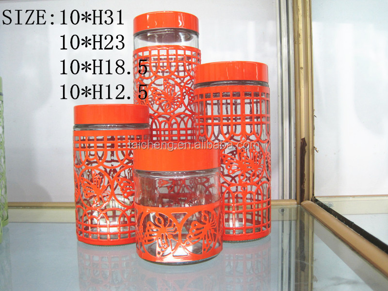 Food storage tank/high quality glass jar