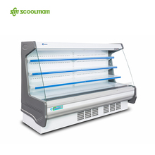 Supermarket Multi-desk Refrigerator Showcase Equipment for Display Drinks, Milks or Fruits