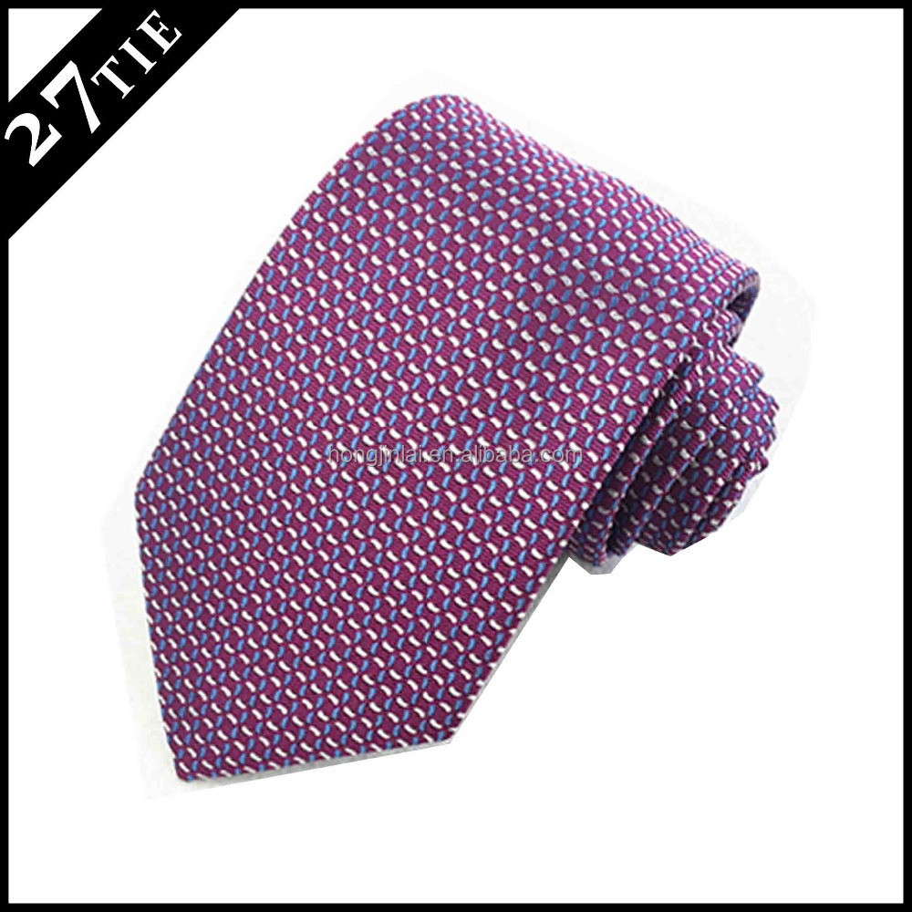 pure silk ties for men original silk woven red necktie