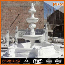 Large ornamental stone fountain waterfall fountains garden