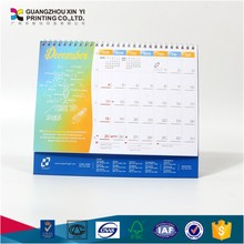 2018 Desk Calendar with pad/desk calendar stand/table calendar printing
