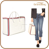 new fashion simple design genuine leather women handbags bag oversized travelling beach hand bag ladies shopping tote bag