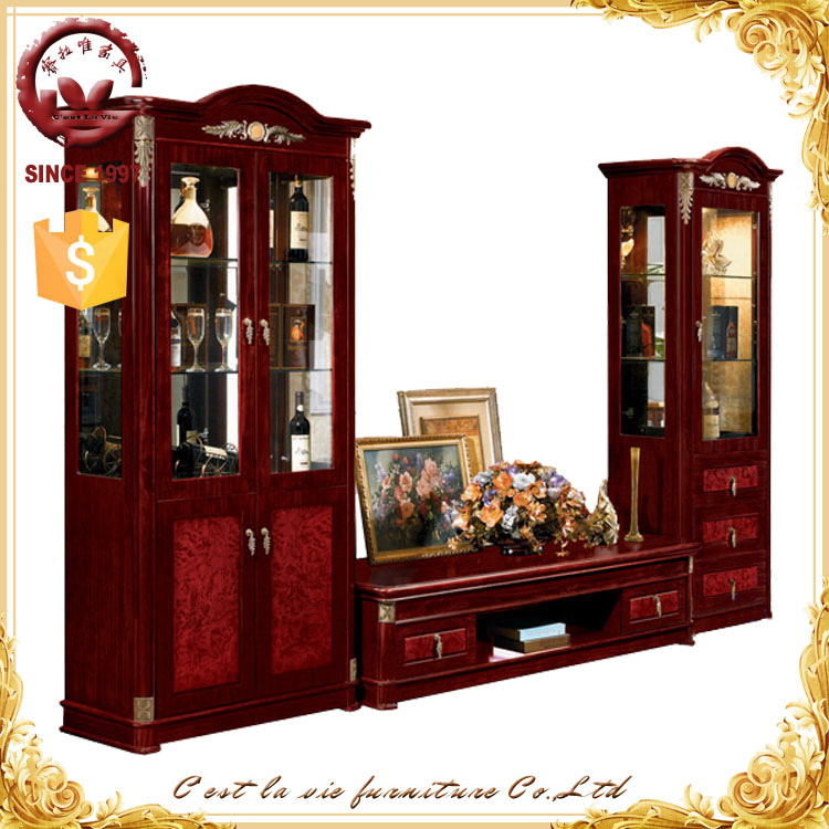 2015 hot sale products modern design living room cabinet tv hall wood led lcd tv unit - Glass showcase designs for living room ...