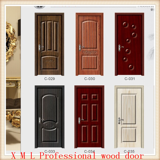 New design hot sell manufacturer price for interior mdf for Wood door manufacturers
