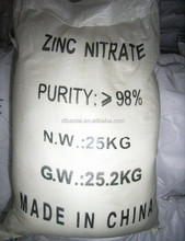 High Purity Zinc Nitrate 98%