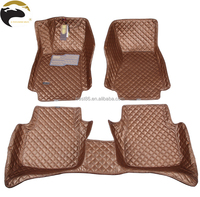 3D PVC leather floor mats car