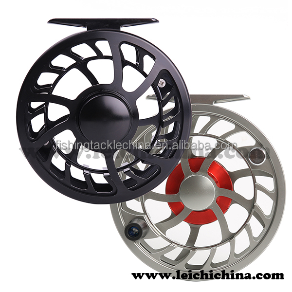 Closed frame CNC machined aluminum Chinese fly fishing reel