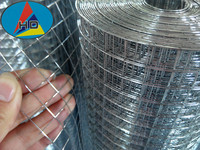 "1"" Concrete Reinforcement Factory Galvanized Iron Welded Wire Mesh Rolls"