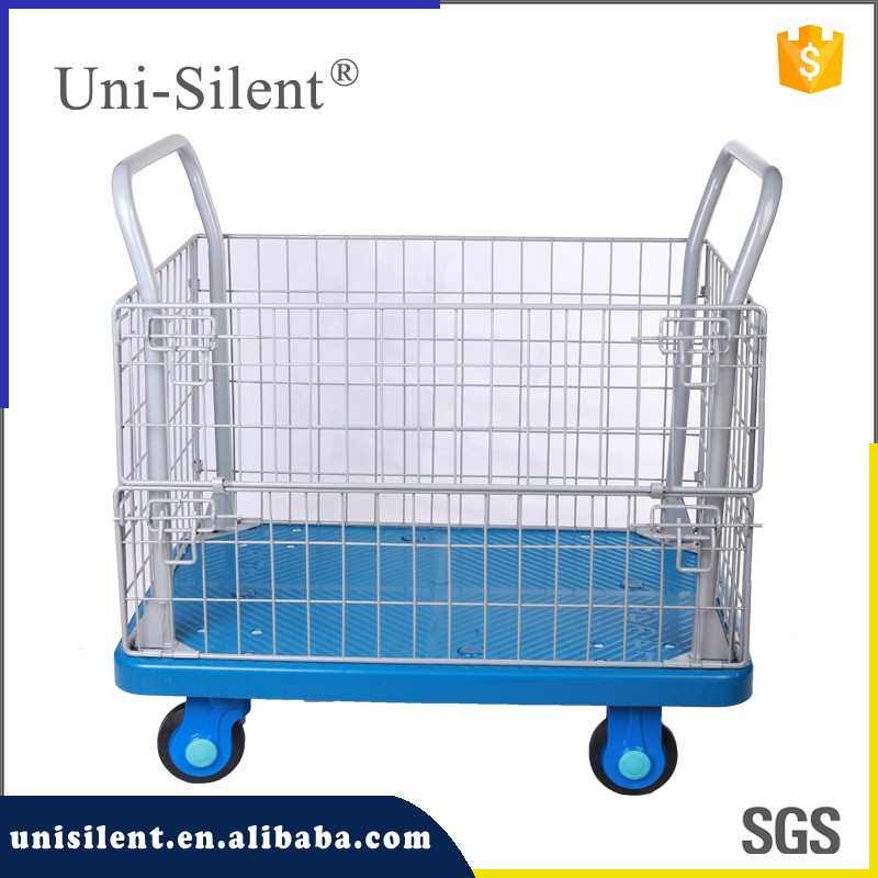 PLA300-AM1 Hospital transport cart hotel laundry cart