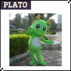 Lovely green dragon mascot costumes for sale, dragon mascot costumes