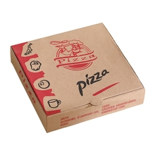 Environmental Low cost protection once pizza packaging box paper pizza box wholesales