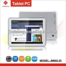 8 inch free sample dual core tablet pc
