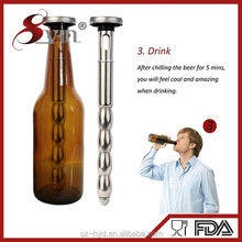 Bar accessories stainless steel terracotta beer chiller stick(NT-PC16)