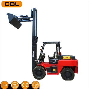4ton 5ton 4WD all rough terrain truck forklift