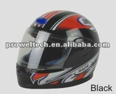 Colorful Motorcycle/Racing Full Helmets in ABS or PP Material