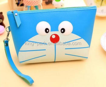 new zipper pu leather pouch