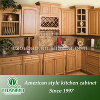 moduler shaker style maple kitchen cabinets with lazy susan corner cabinet