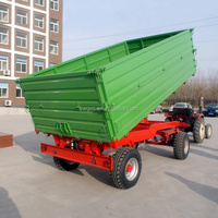 High quality 0.5-20 Ton Farm Trailer with ISO,CE,PVOC,COC certificate for sale