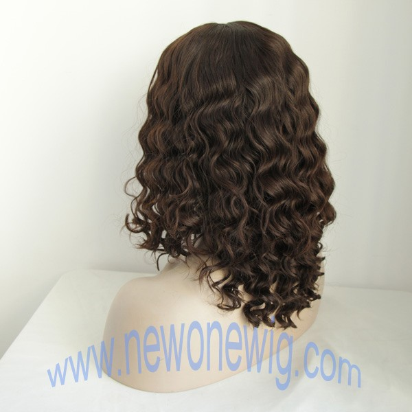 Water wave 100 European hair wig jewish wig manufacturer.jpg
