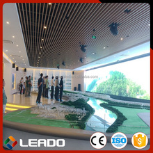 Promotion Personalized Perfect Vision Effect rental use led screen curtain