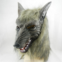 PM-771 Masquerade party Halloween props horror devil grey wolf mask