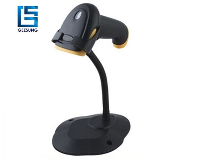 Factory price cheap 1D bar code scanner with stand CCS-658