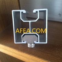 wholesale anodzied structural aluminum section of factory supplier