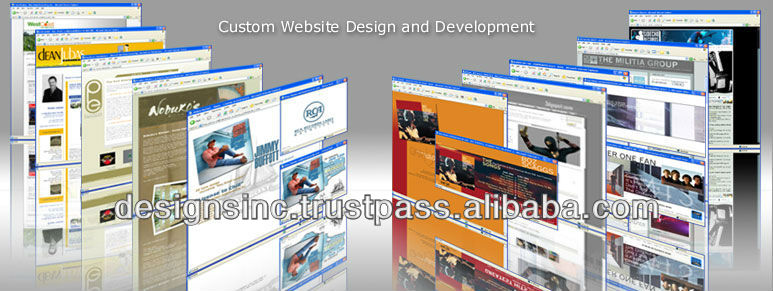Marketing custom website Design and development