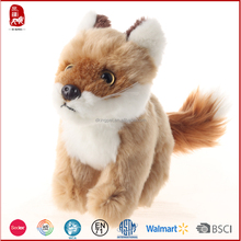 Plush toy animals fox wholesale by ASTM and BSCI detection