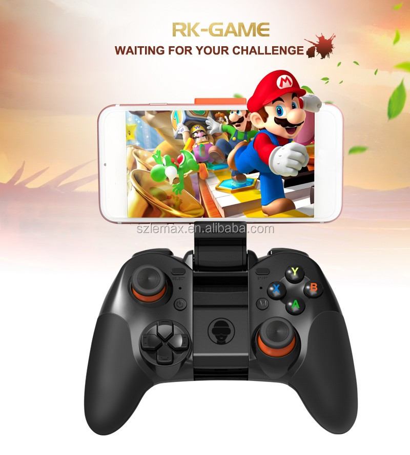 2016 new arrival game joystick ios/android smartphone PC bluetooth gamepad/game controller with good shape joystick