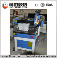 Cheaper price 3d stone cnc router with water jet work for Aluminum and copper