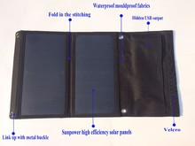 Portable folding best small size solar power charger for cellphone charging