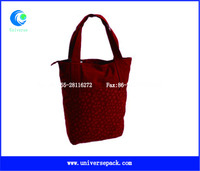 Shopping Tote Bags Canvas Zipper Bag Custom Model Wholesale Goods