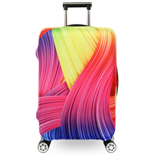 MOQ 1pc travel luggage covers spandex suitcase covers