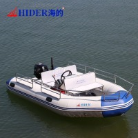 China large Inflatable rowing boat with diesel boat heater
