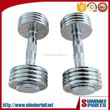 15 KG chromed dumbbell set