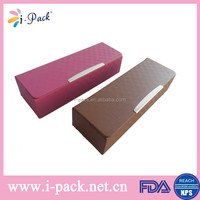 hot selling new original folding spectacle case factory price folding pu leater glasses case