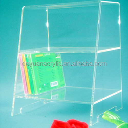 Custom acrylic shelf divider