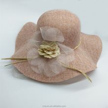 High Quality Philippines Fashion sinamay hat bases