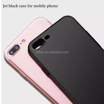 DFIFAN hot products 2017 Black Phone Case for iphone 8 8 plus, for iphone 8 mobile case