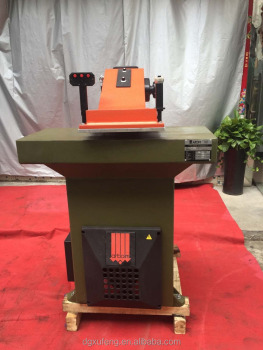 Hydraulic leather cutting press clicker ATOM machines